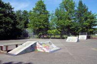 Die Skaterbahn in Niendorf Nord